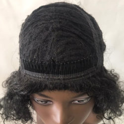 Peruca Wig - ELIANE - Grisalho Escuro