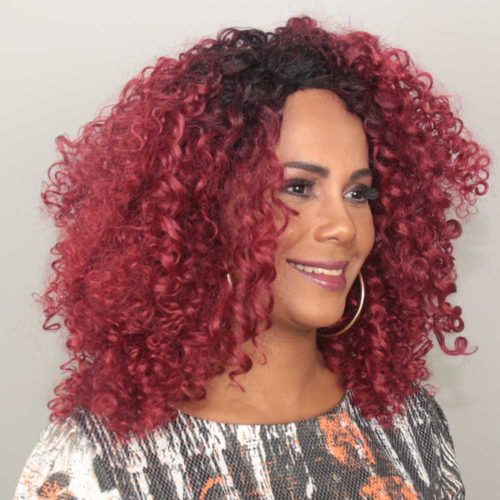 Peruca Lace Front Wig - TAIS