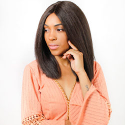 Peruca Lace Front Wig - NANY