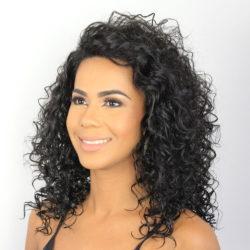 Peruca Lace Front Wig - CRIS