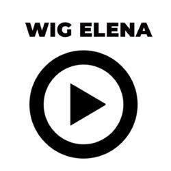 Peruca Wig - ELENA - Marrom
