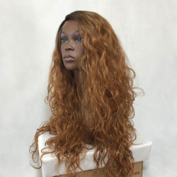Peruca Lace Front Wig - ISABELA - caramelo